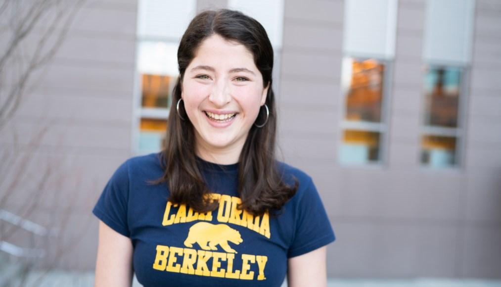Nanolab high-school intern now first-year Golden Bear