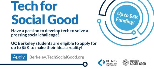 CITRIS Tech for Social Good