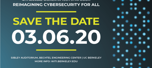 Save the Date 2020 Women In Tech Symposium