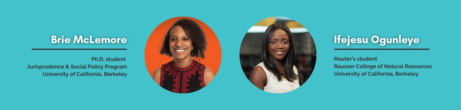 2021 Technology and Human Rights Fellows: Brie McLemore and Ifejesu Ogunleye