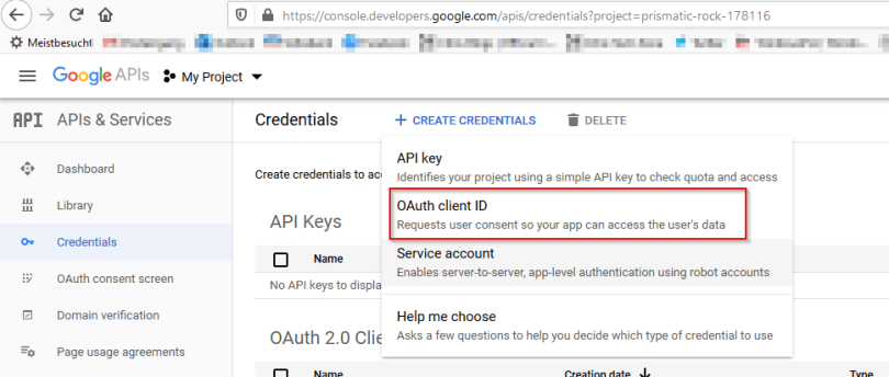 2020-01-31 15_04_29-Credentials – APIs & Services – My Project – Google API Console