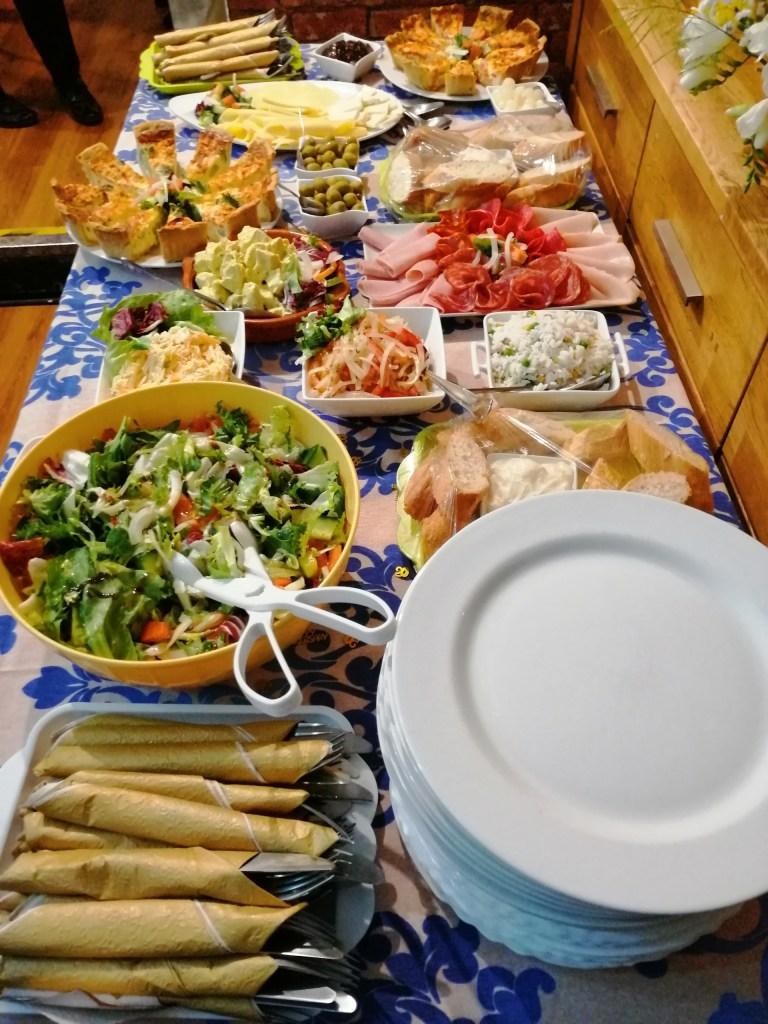 private buffet