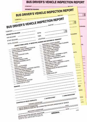 Farm labor bus drivers are required to inspect their vehicles daily.