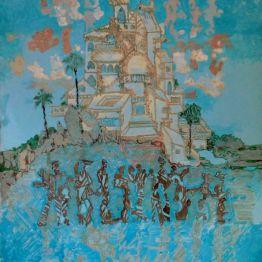 VALDRADA - acrilico su tela - cm. 70 x 90