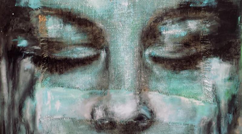 ZOBEIDE – tecnica mista – cm. 70 x 100