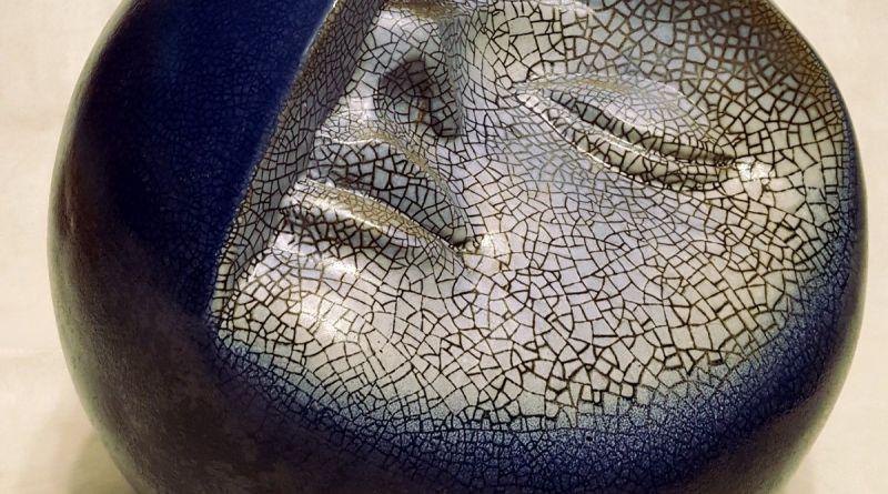 LALAGE - terracotta smaltata - Ø cm. 24