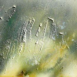 OLIVIA - tecnica mista su tavola - cm. 49,5 x 91,5 (particolare)