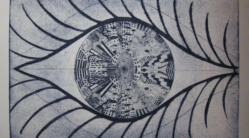 VALDRADA - incisione ad intaglio e punta secca - matrice mm. 632 x 435 / foglio cm. 70 x 50