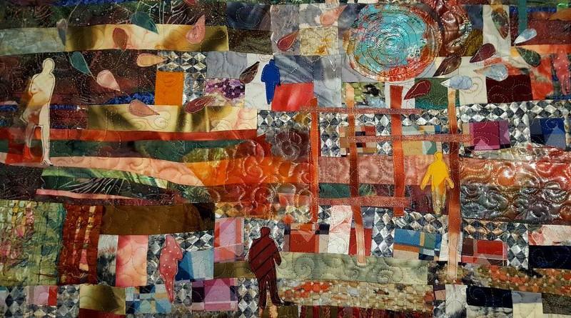 ZOE - quilt - cm. 200 x 100 (particolare)