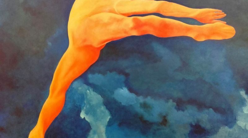MORIANA - olio su tela - cm. 120 x 100