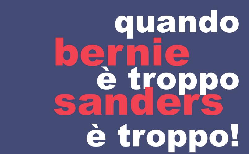 """""""Quando è troppo è troppo!"""" Bernie Sanders arriva a Succivo"""