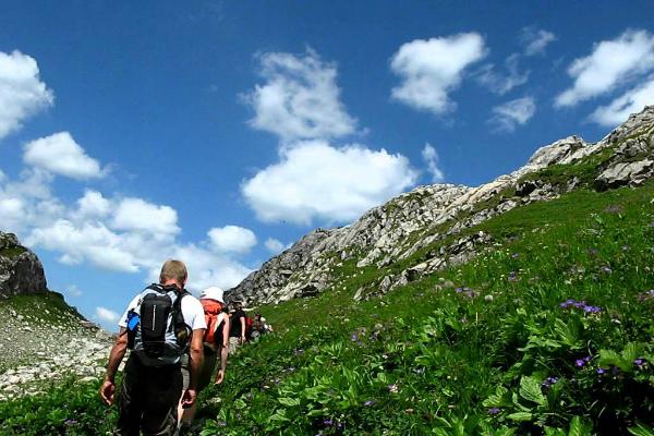 Summer hikes in Lech am Arlberg