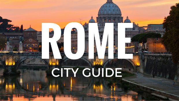 [Infographic] Rome city guide: Rome airport transport, must-see places and food