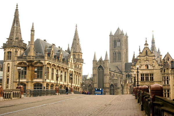 Ghent day trips from Brussels