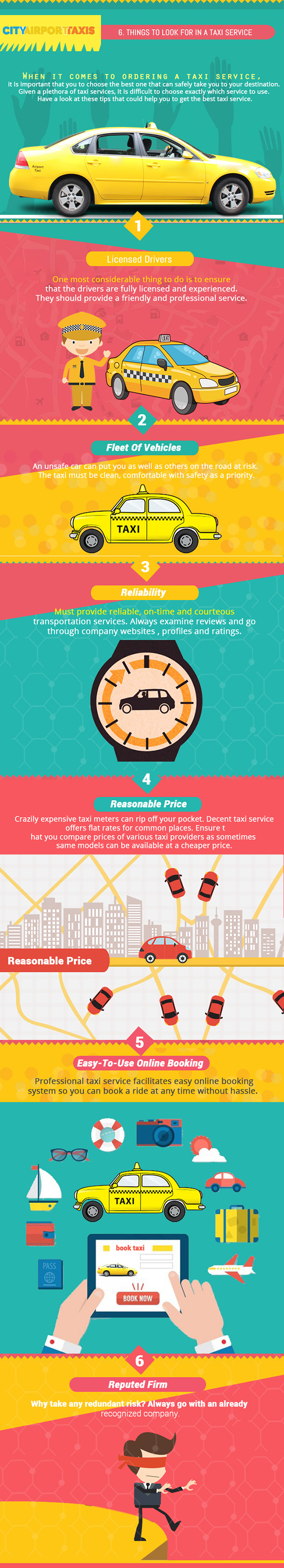 How to search for a good taxi service
