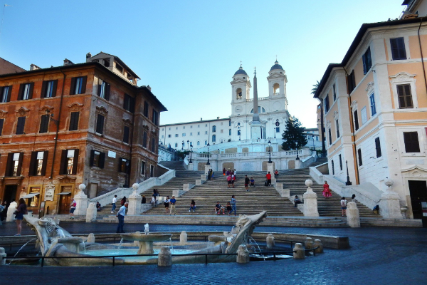 Spanish Steps at Piazza di Spagna