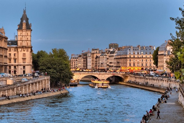 Seine River Paris City Airport Taxis