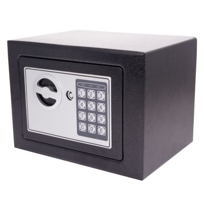 New Small Black Digital Electronic Safe Box Keypad Lock ...