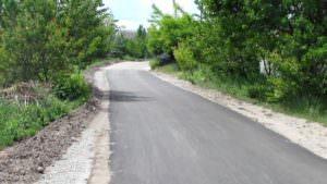 В микрорайоне Гончаровка отремонтировано дорожное покрытие-1