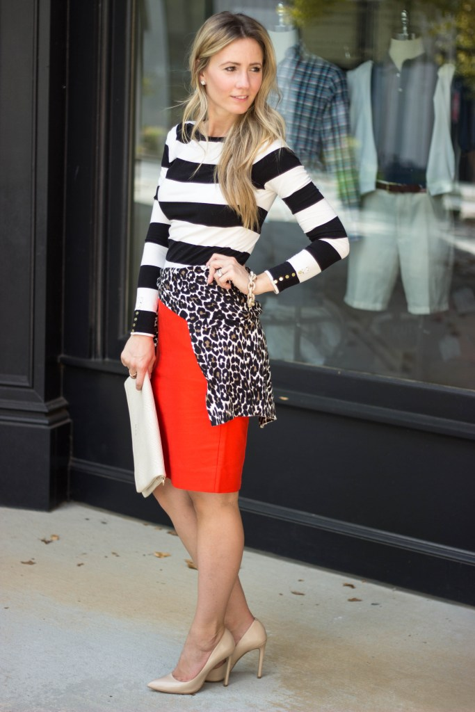 J.Crew-citypeach-fall-layering-leopard-sweater-pencil-skirt