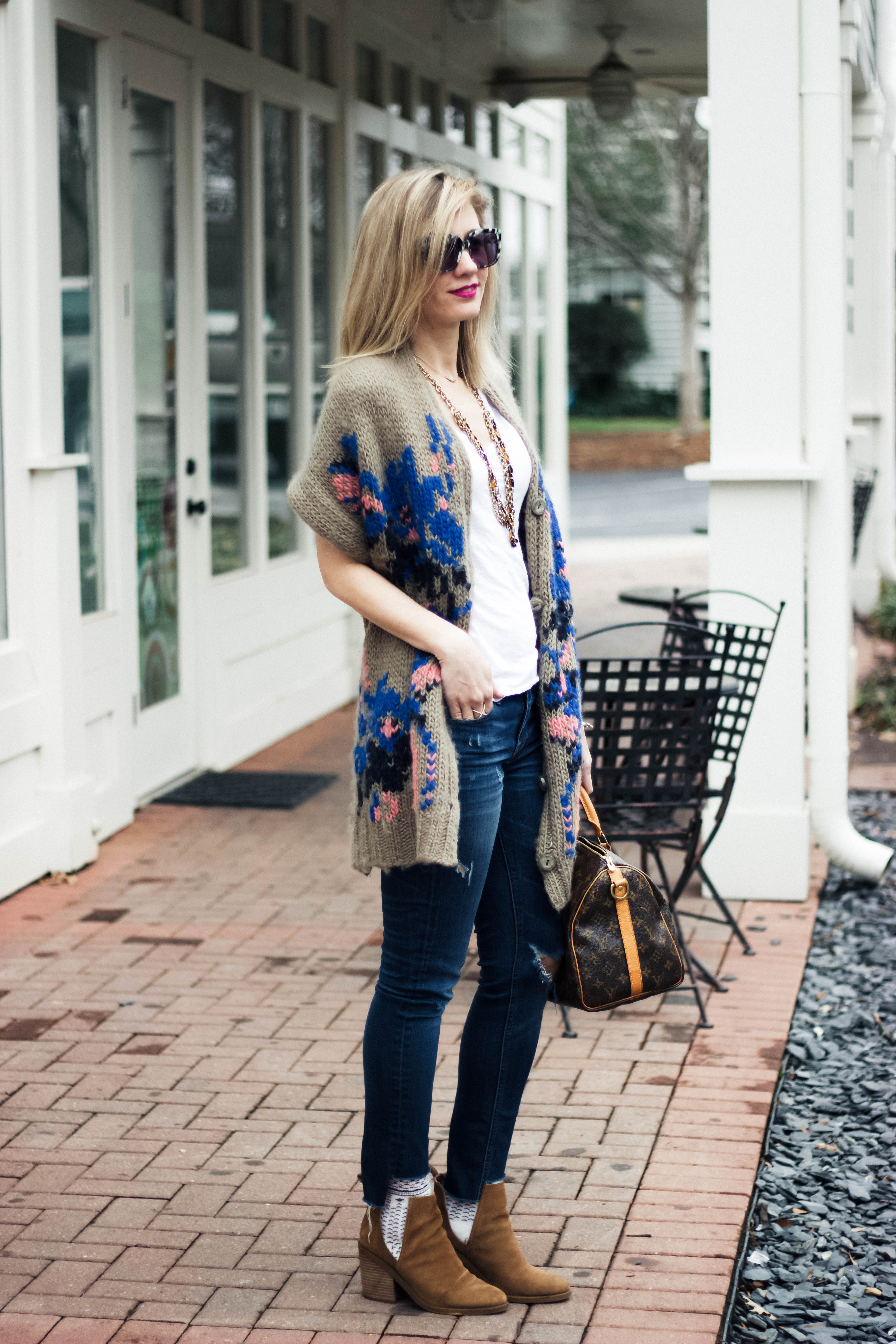Another Way To Wear The Cut-Out Boot Trend