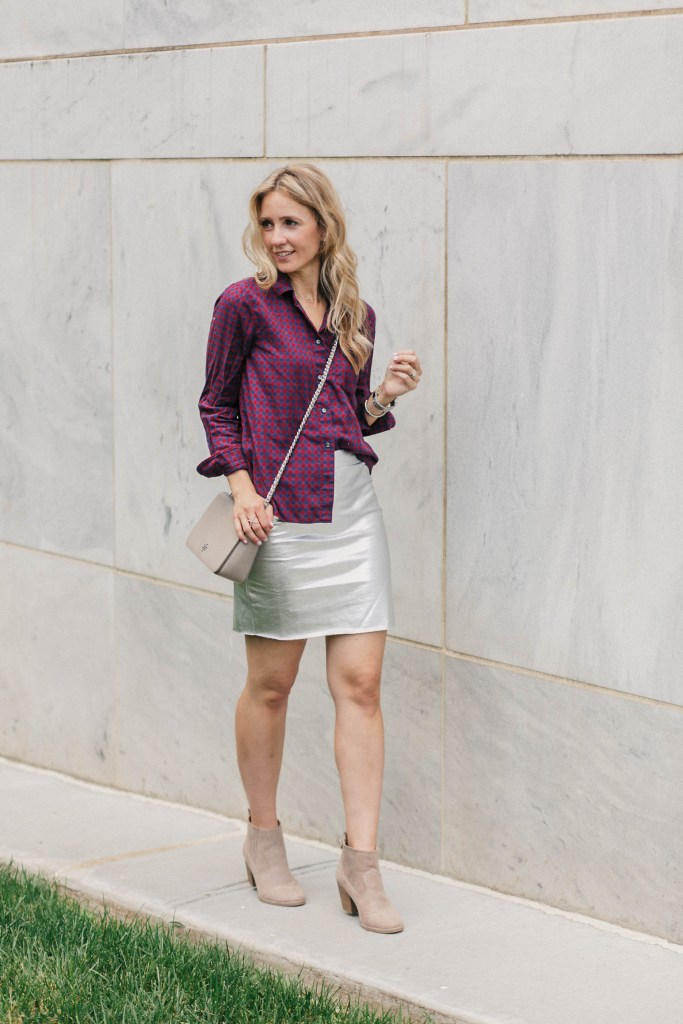 metallic-skirt-plaid-transition-dressing-city-peach