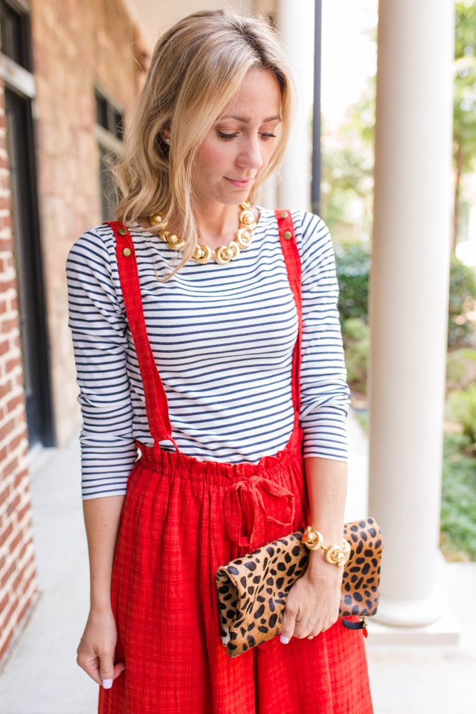 wideleg-jumpsuit-suspenders-BrynnHudson-striped-top-city-peach