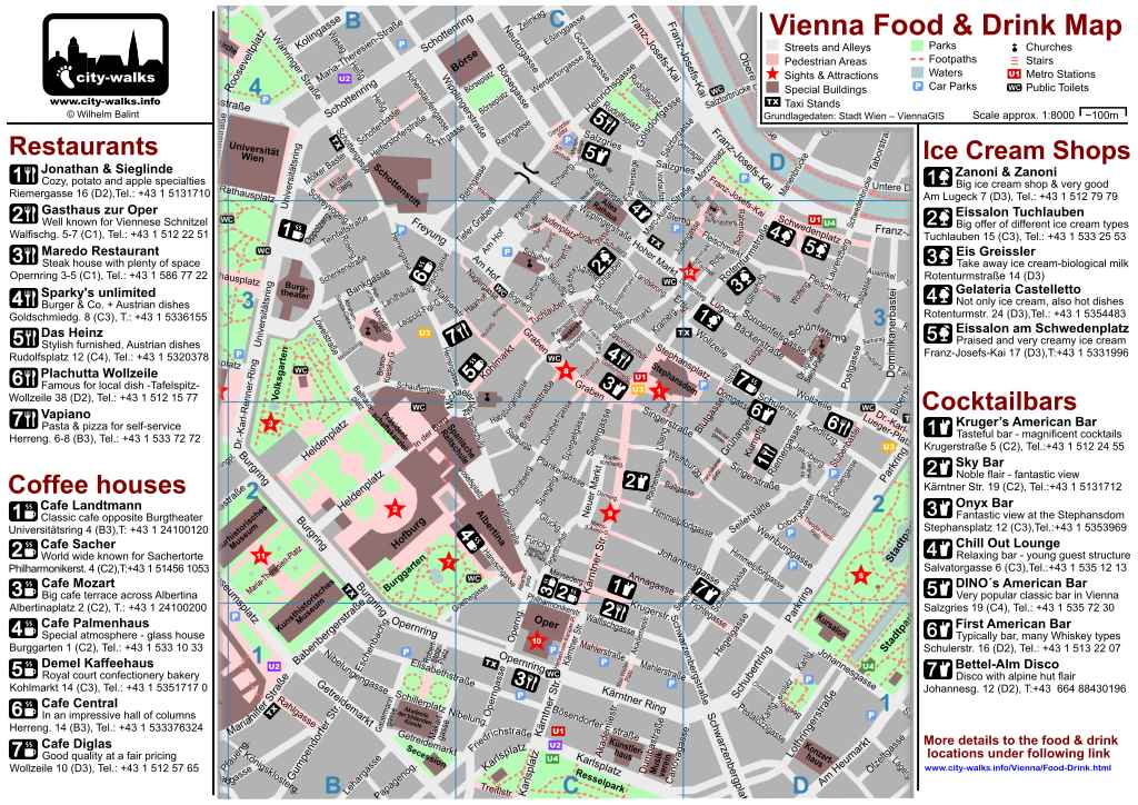 Vienna Restaurant Guide For The City Center