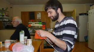 Matt knitting