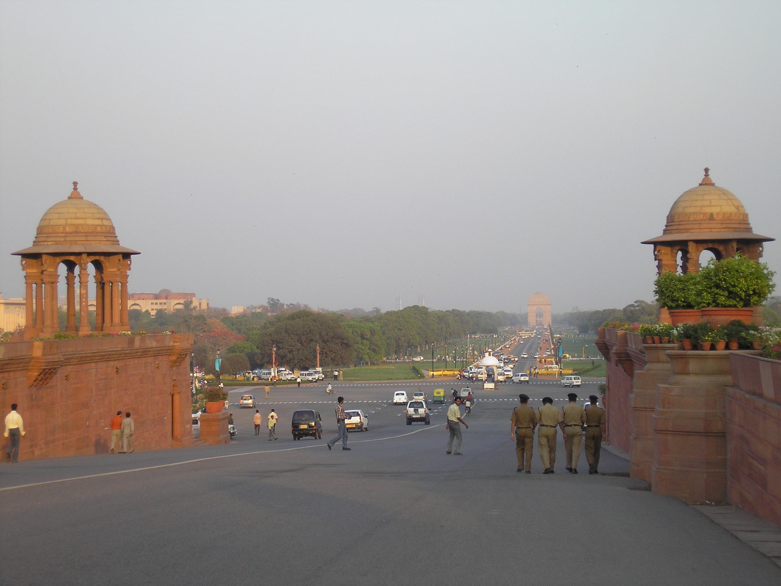 In 2016 is New Delhi een compleet andere stad geworden.