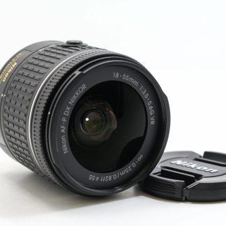 高雄青蘋果3c買賣中古NIKON AF-P 18-55mm f3.5-5.6 G VR 鏡頭
