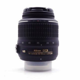 台中青蘋果3c高價收購Nikon AF-S DX 18-55mm f3.5-5.6G VR 單眼鏡頭