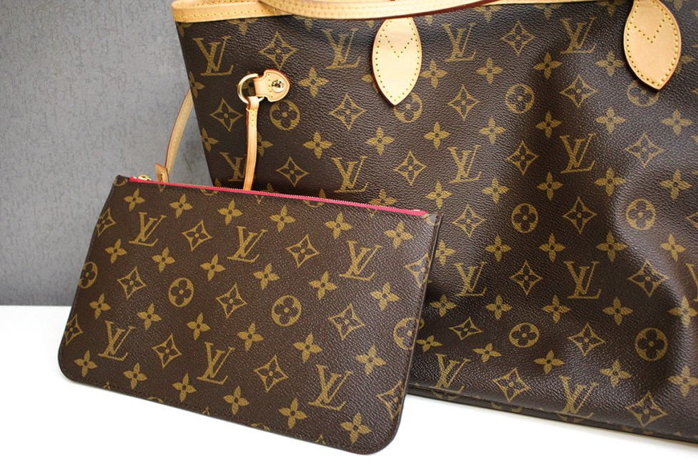 高雄鼓山區現金收購LV Louis Vuitton M41178 Neverfull MM子母包