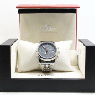 高雄青蘋果3c買賣二手TISSOT 經典計時機械腕錶