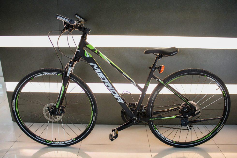 台中青蘋果3c收購中古 美利達 MERIDA CROSSWAY100 腳踏車