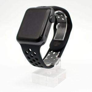台南橙市3C收購二手Apple Watch Nike+ 42mm 太空灰鋁框 黑色運動錶環