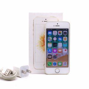 台中青蘋果3C現金收購Apple iPhone SE 金 64GB 二手蘋果手機
