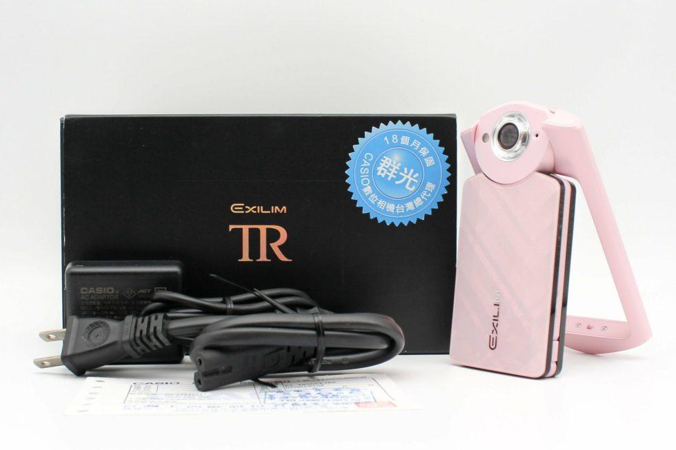 高雄鼓山交換二手CASIO-TR50自拍美顏相機