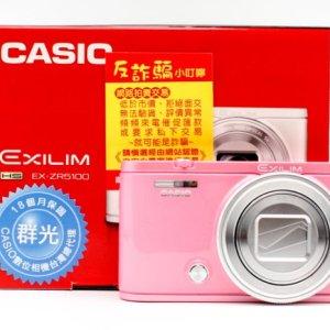 高雄小港找二手Casio EX-ZR5100 EX-ZR-5100 粉 自拍美顏相機