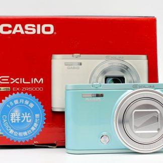 台南橙市3c收購二手 EX-ZR5000 自拍美顏相機