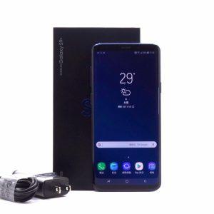台中青蘋果3C買賣收購SAMSUNG GALAXY S9+ S9 Plus SM-G965F 珊瑚藍 64G