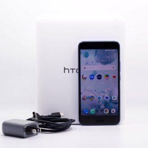 台中青蘋果3c高價收購二手HTC U11 U-3u 炫藍銀 64G 64GB 二手 5.5吋 手機