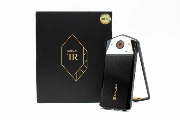 高雄鳳山回收二手交換中古Casio TR80 TR-80 自拍美顏相機