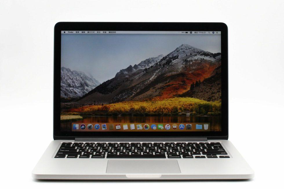 台中青蘋果3c專業收購二手MacBook Pro Retina 13吋 i5 2.7GHz 8GB 128G 蘋果電腦