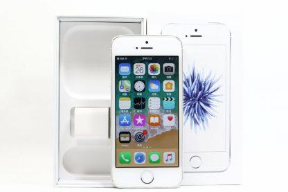 台南橙市3c最新收購二手Apple iPhone SE 銀 64GB 蘋果手機價格