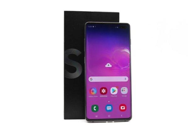 高雄青蘋果二手手機收購價格SAMSUNG Galaxy S10+ 512GB 二手手手機