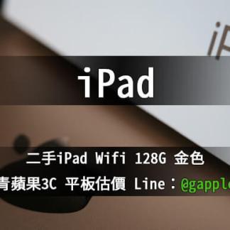 ipad wifi 128G 金色