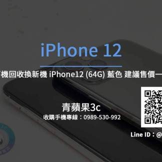 Apple iPhone 12 64G 藍色