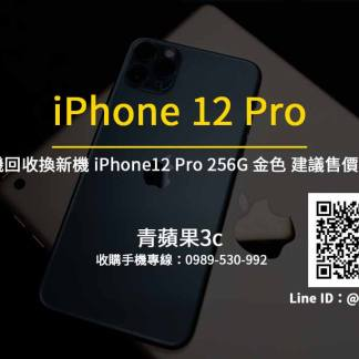 Apple iPhone 12 Pro 256G 金色