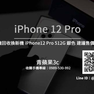 Apple iPhone 12 Pro 512G 銀色